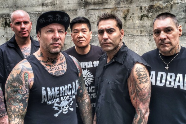Agnostic Front photographed by Todd Huber