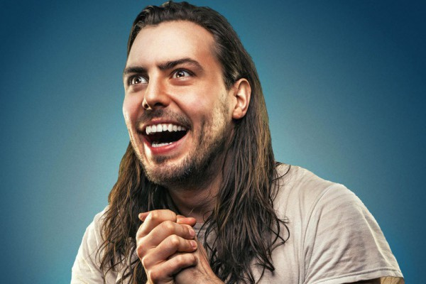 Andrew W.K. photographed by Jen Maler
