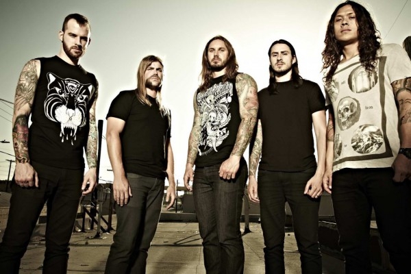 As I Lay Dying photographed by Cindy Frey