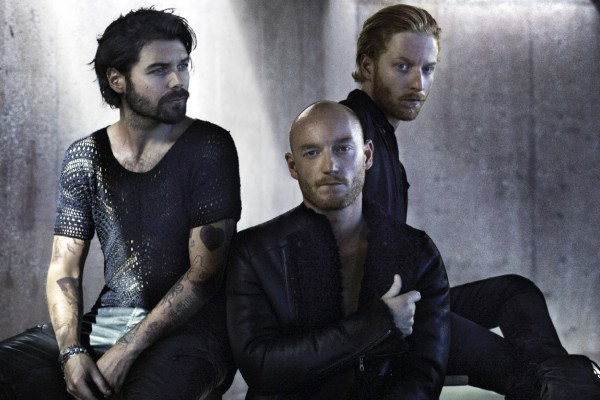 Biffy Clyro photographed by Kevin Westenberg