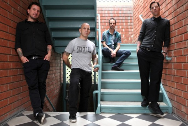 Bouncing Souls photographed by Chrissy Piper