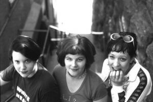 Bratmobile photographed by Pat Graham
