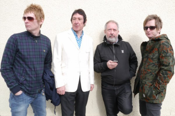 Buzzcocks photographed by Lorne Thomson