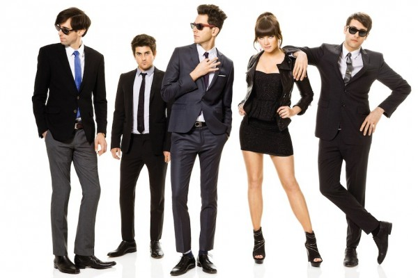 Cobra Starship photographed by Lauren Dukoff