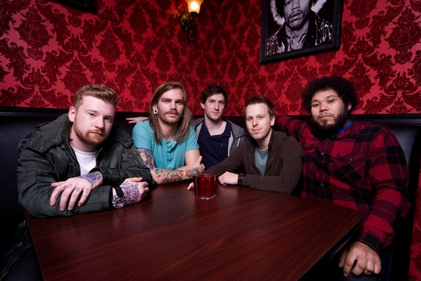 Dance Gavin Dance photographed by Rise Records