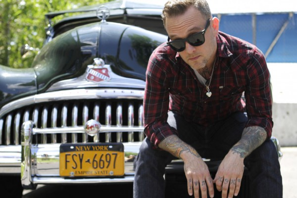 Dave Hause photographed by Jen Maler