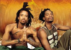 Dead Prez photographed by Columbia Records