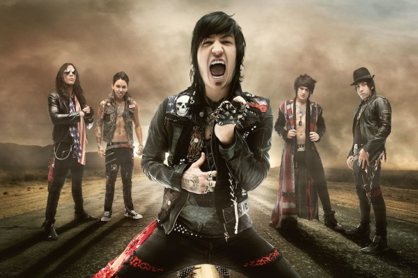 Escape the Fate photographed by David Jackson
