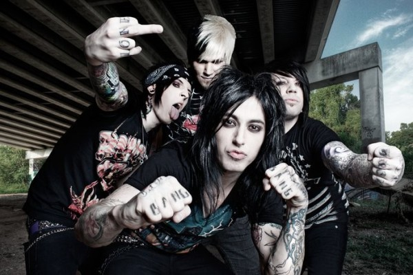 Falling in Reverse photographed by Ashley McGuire