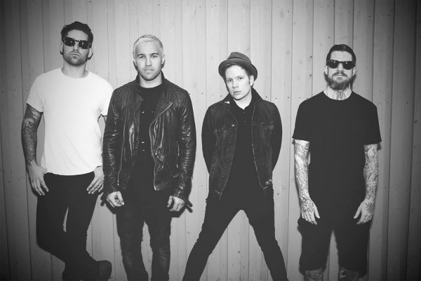 Fall Out Boy photographed by Jack Edinger