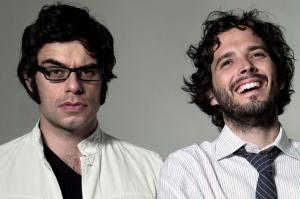 Flight of the Conchords photographed by Amelia Handscomb