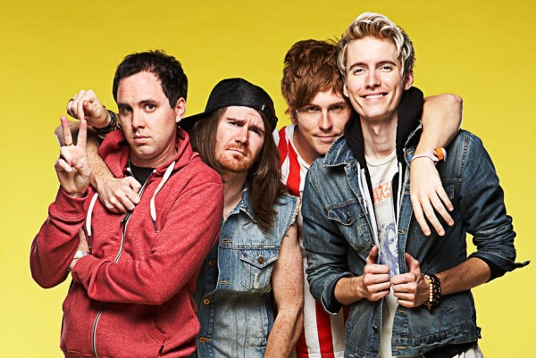 Forever the Sickest Kids photographed by Evan Hunt
