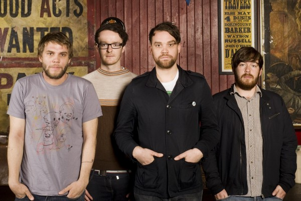 Frightened Rabbit photographed by Gordon Burniston
