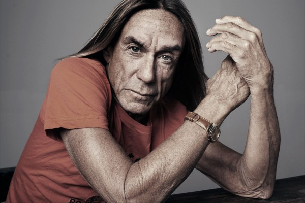 Iggy Pop photographed by Gavin Bond