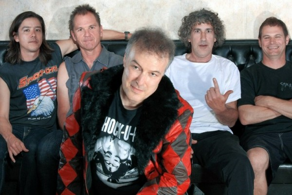 Jello Biafra and the Guantanamo School of Medicine photographed by Elizabeth Sloan