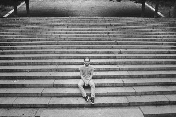Kevin Devine photographed by Shervin Lainez