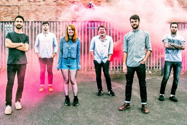 Los Campesinos! photographed by Jon Bergman