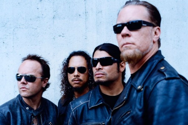 Metallica photographed by Ross Halfin