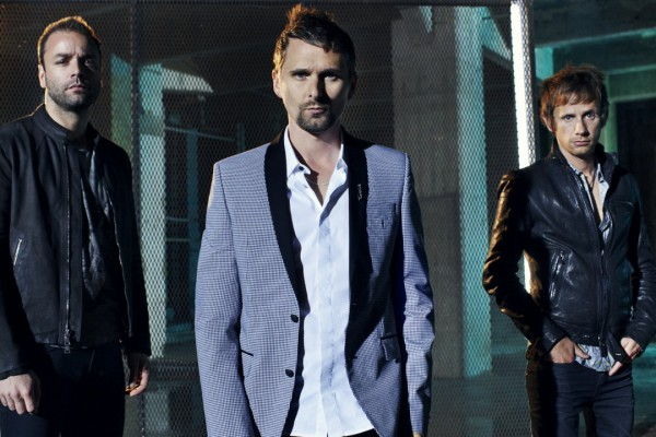 Muse photographed by Dean Chalkley