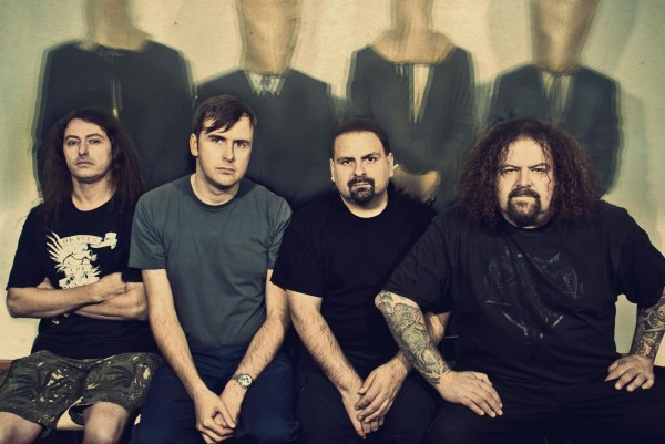 Napalm Death photographed by Cindy Frey