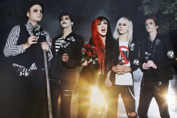 New Years Day photographed by Michelle Star