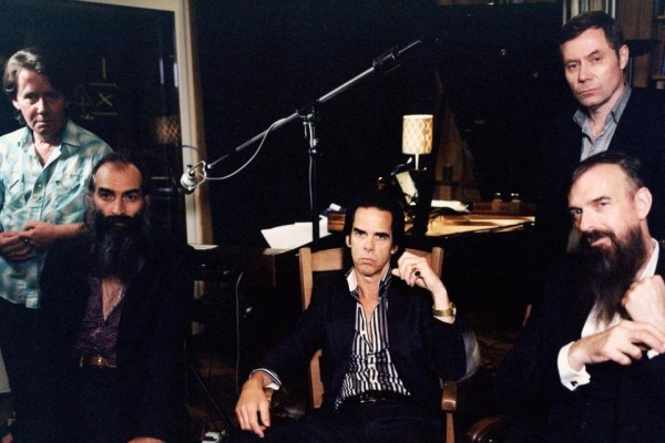 Nick Cave and the Bad Seeds photographed by Polly Borland
