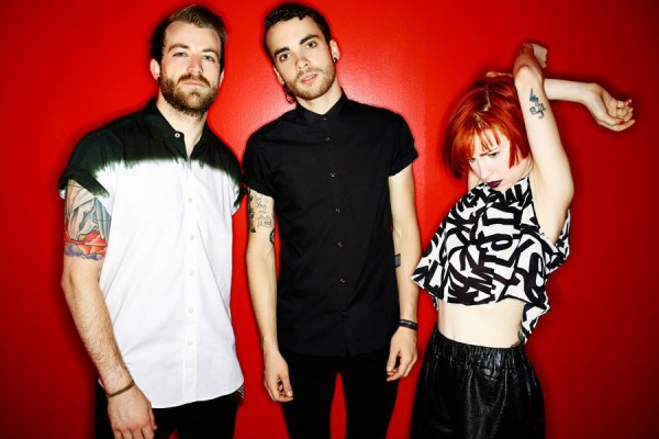 Paramore photographed by Nigel Crane
