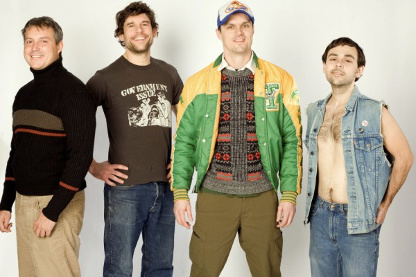 Propagandhi photographed by Mandy Malazdrewich