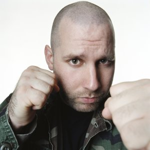 Sage Francis photographed by Anthony St.James