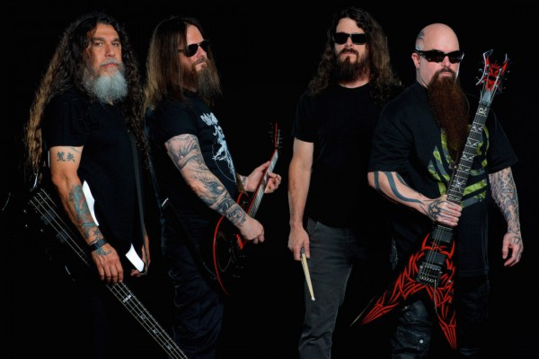 Slayer photographed by Andrew Stuart