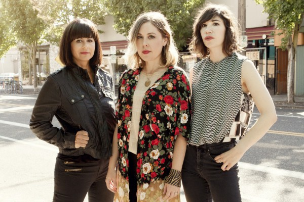 Sleater-Kinney photographed by Brigette Sire