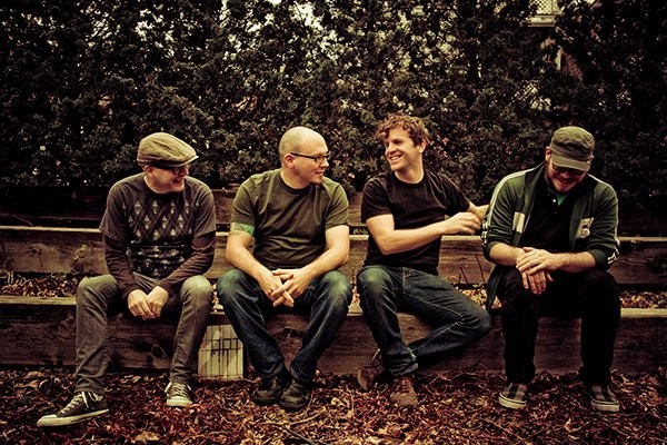 Smoking Popes photographed by Katie Hovland