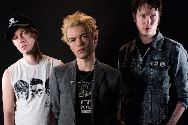 Sum 41 photographed by John Asher