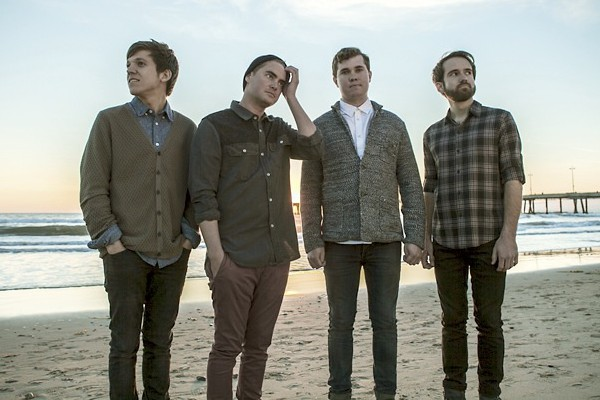 Surfer Blood photographed by Frank Maddocks