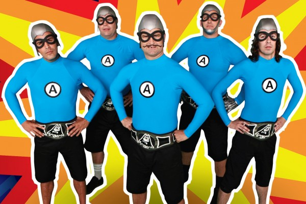 The Aquabats photographed by Nitro