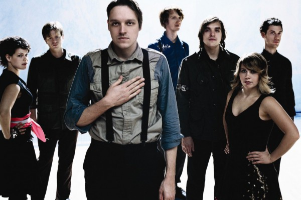 The Arcade Fire photographed by Anton Corbijn