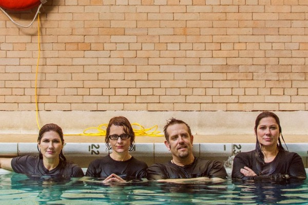 The Breeders photographed by Andrew Kuykendall