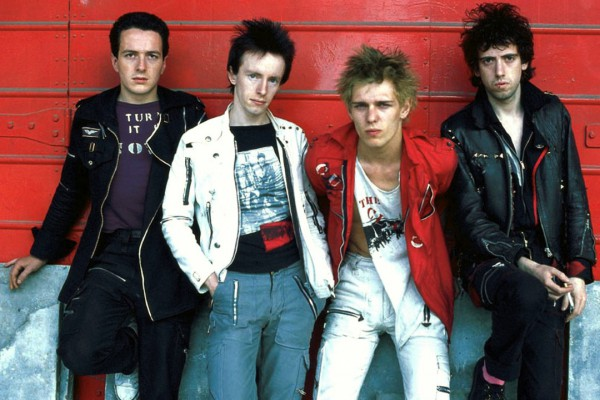 The Clash photographed by Adrian Boot