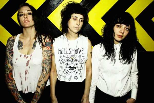 The Coathangers photographed by Ryan Russell