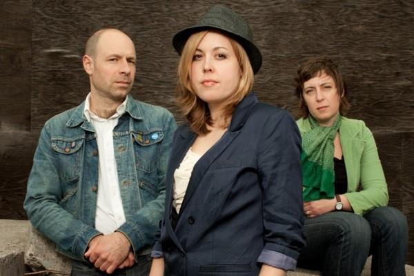 The Corin Tucker Band photographed by John Clark