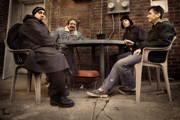 The Dead Milkmen photographed by Nina Sabatino