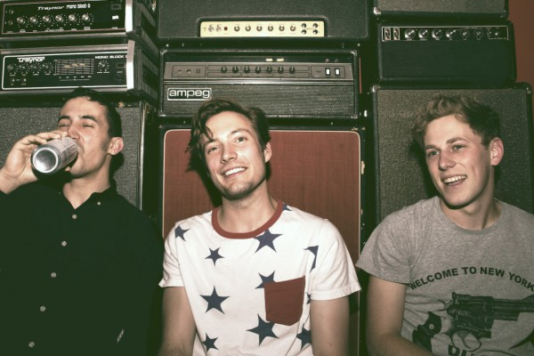 The Dirty Nil photographed by Jonathan Ely Cass