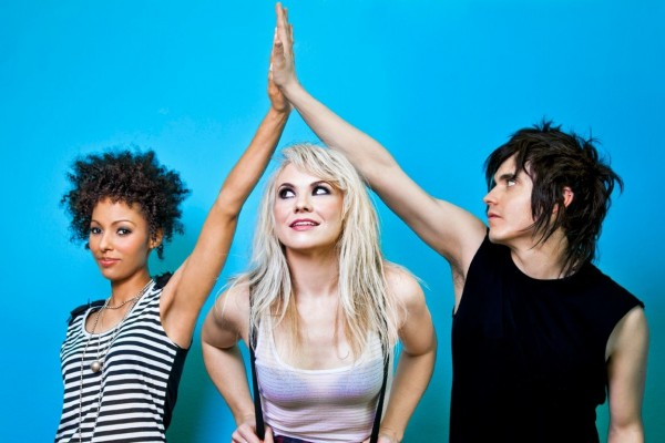 The Dollyrots photographed by Leigh Righton