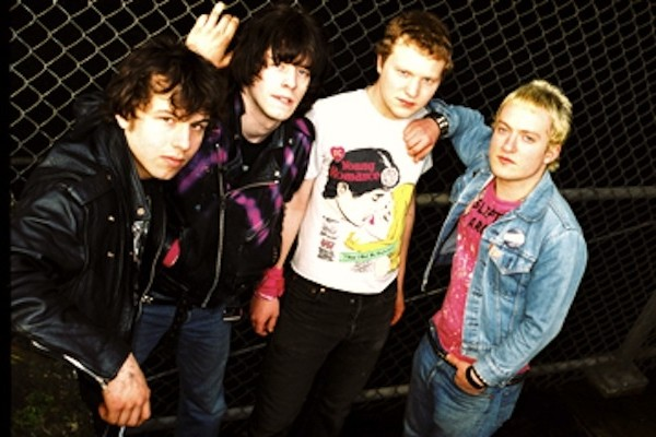The Exploding Hearts photographed by Chrystaei Branchaw