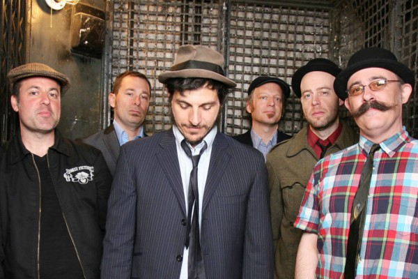 The Slackers photographed by Joelle Andres