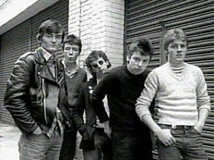 The Undertones photographed by Sire Records