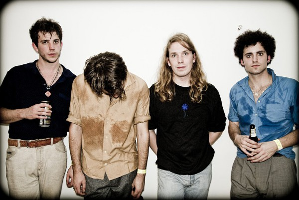 The Vaccines photographed by Roger Sargent