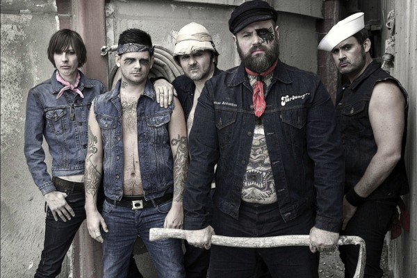 Turbonegro photographed by Richard Eriksen