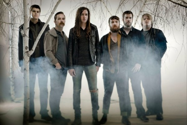 Underoath photographed by Tooth and Nail