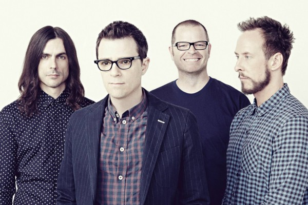 Weezer photographed by Emily Shur